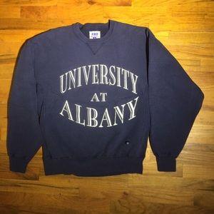Vintage Russell University of Albany sweatshirt